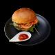 Sicilian hamburger